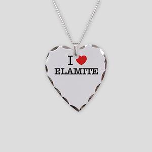 I Love ELEKTRA Necklace Heart Charm