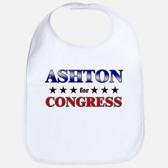 ASHTON for congress Bib