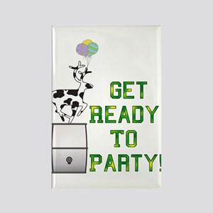 Ready To Party Rectangle Magnet