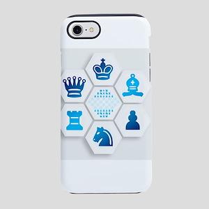 Chess on Hexagonal Tiles iPhone 8/7 Tough Case