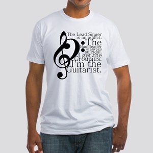 Guitarist Fitted T-Shirt