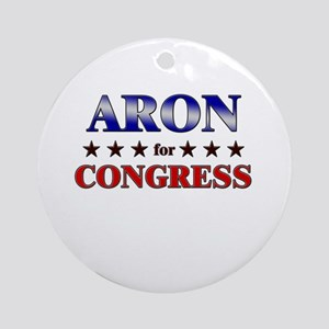 ARON for congress Ornament (Round)
