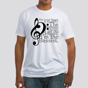 Bassist Fitted T-Shirt