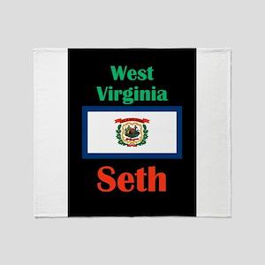 Seth West Virginia Throw Blanket