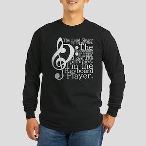 Keyboard Player Long Sleeve Dark T-Shirt