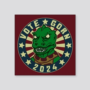 "Star Trek Vote Gorn 2020 Square Sticker 3"" x 3"""