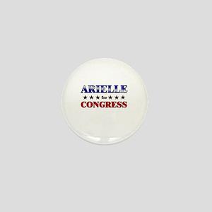 ARIELLE for congress Mini Button
