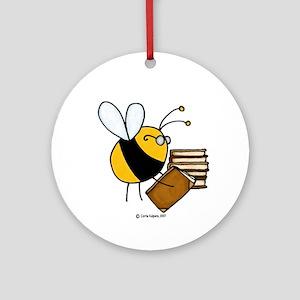 librarian/archivist/book seller Ornament (Round)
