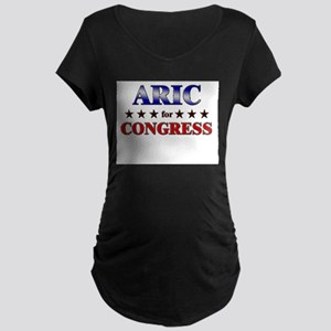 ARIC for congress Maternity Dark T-Shirt