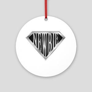 SuperNewbie(metal) Ornament (Round)