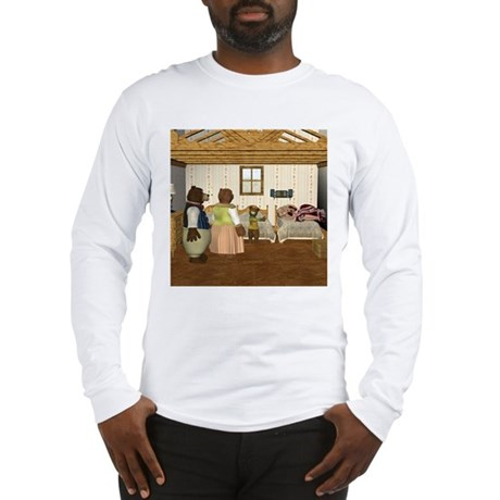 Goldilocks and the 3 Bears Long Sleeve T-Shirt