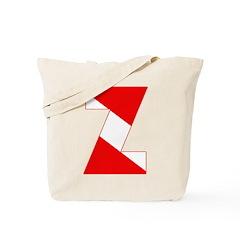 https://i3.cpcache.com/product/189254379/scuba_flag_letter_z_tote_bag.jpg?side=Front&color=Khaki&height=240&width=240