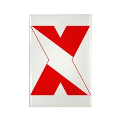 https://i3.cpcache.com/product/189259040/scuba_flag_letter_x_rectangle_magnet_10_pack.jpg?side=Front&height=240&width=240