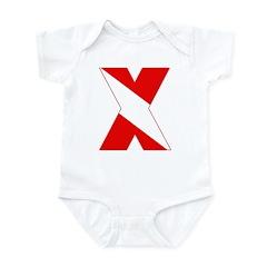 https://i3.cpcache.com/product/189259075/scuba_flag_letter_x_infant_bodysuit.jpg?color=CloudWhite&height=240&width=240