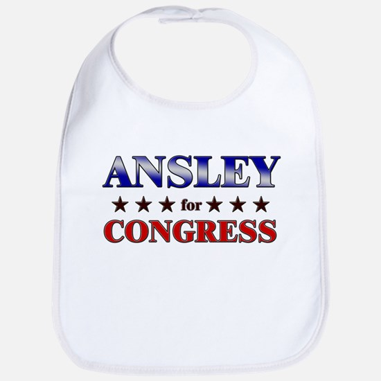 ANSLEY for congress Bib