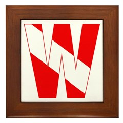 https://i3.cpcache.com/product/189260326/scuba_flag_letter_w_framed_tile.jpg?side=Front&height=240&width=240
