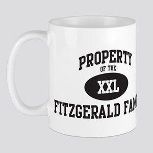 Property of Fitzgerald Family Mug