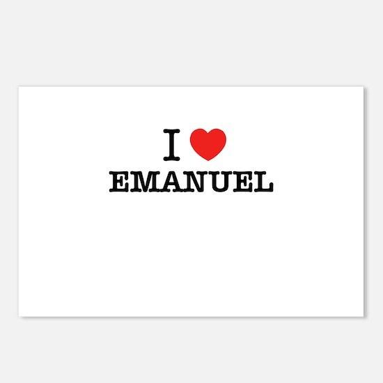 I Love EMANUEL Postcards (Package of 8)