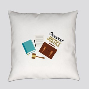 Criminal Justice Everyday Pillow
