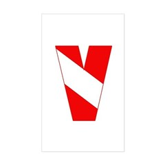 https://i3.cpcache.com/product/189263288/scuba_flag_letter_v_rectangle_decal.jpg?side=Front&color=White&height=240&width=240