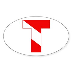 https://i3.cpcache.com/product/189265121/scuba_flag_letter_t_oval_decal.jpg?side=Front&color=White&height=240&width=240