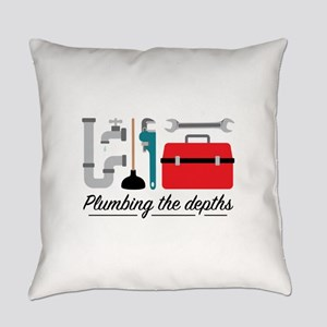 Plumbing The Depths Everyday Pillow
