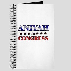 ANIYAH for congress Journal