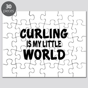 Curling Is My Little World Puzzle