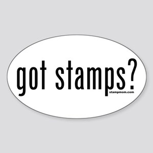 Got Stamps? Oval Sticker