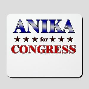 ANIKA for congress Mousepad