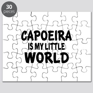 Capoeira Is My Little World Puzzle