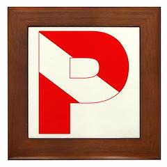 https://i3.cpcache.com/product/189269766/scuba_flag_letter_p_framed_tile.jpg?side=Front&height=240&width=240