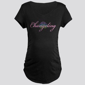 Changeling Maternity Dark T-Shirt