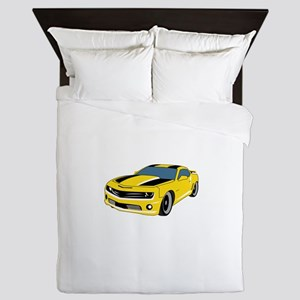 American Classic Car Queen Duvet