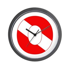 https://i3.cpcache.com/product/189270890/scuba_flag_letter_o_wall_clock.jpg?side=Front&height=240&width=240