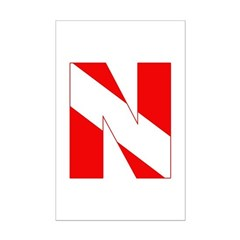 https://i3.cpcache.com/product/189272097/scuba_flag_letter_n_posters.jpg?height=240&width=240