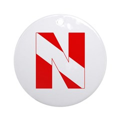 https://i3.cpcache.com/product/189272102/scuba_flag_letter_n_ornament_round.jpg?height=240&width=240