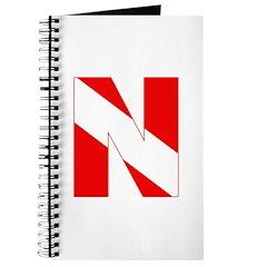 https://i3.cpcache.com/product/189272109/scuba_flag_letter_n_journal.jpg?side=Front&height=240&width=240