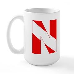 https://i3.cpcache.com/product/189272188/scuba_flag_letter_n_large_mug.jpg?side=Front&color=White&height=240&width=240