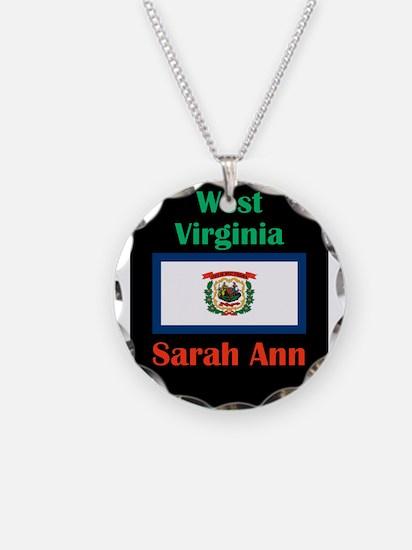 Sarah Ann West Virginia Necklace