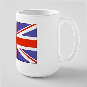 UK:British Flag Large Mug