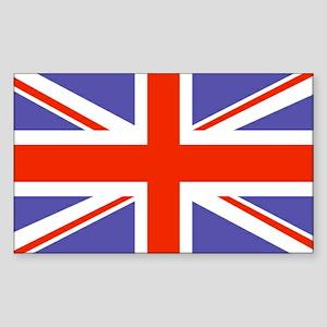 UK:British Flag Rectangle Sticker