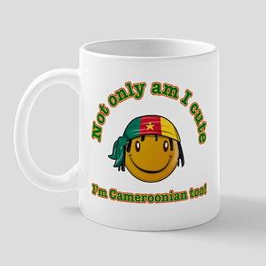 Not only am I Cute I'm Cameroonian too! Mug