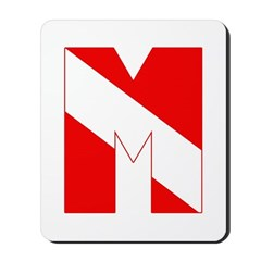 https://i3.cpcache.com/product/189273503/scuba_flag_letter_m_mousepad.jpg?side=Front&height=240&width=240