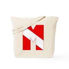 https://i3.cpcache.com/product/189273538/scuba_flag_letter_m_tote_bag.jpg?side=Front&color=Khaki&height=240&width=240