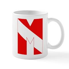 https://i3.cpcache.com/product/189273582/scuba_flag_letter_m_mug.jpg?side=Back&color=White&height=240&width=240