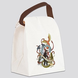 I Heart Cryptozoology Canvas Lunch Bag