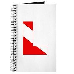 https://i3.cpcache.com/product/189274624/scuba_flag_letter_l_journal.jpg?side=Front&height=240&width=240
