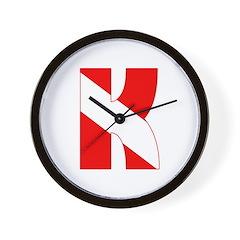 https://i3.cpcache.com/product/189275738/scuba_flag_letter_k_wall_clock.jpg?height=240&width=240