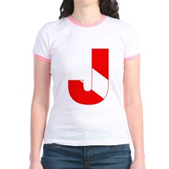 https://i3.cpcache.com/product/189276682/scuba_flag_letter_j_t.jpg?side=Front&color=PinkSalmon&height=240&width=240